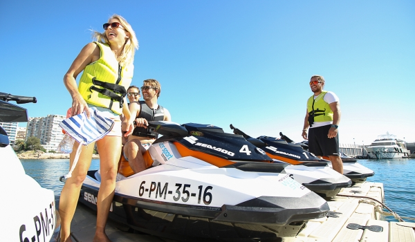 Jetski  Mallorca Water Sport Center @ Port Calanova