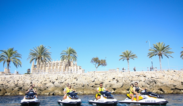 Jetski Kathedrale Mallorca Water Sport Center @ Port Calanova